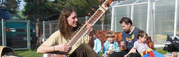Výborné hudební odpoledne vedené Jonášem Kouklem.