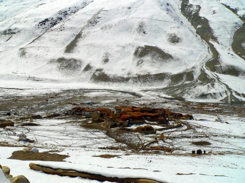 Celkový pohled na vesnici