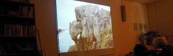 4.7. 2014 proběhla v domově Eliška cestopisná přednáška o Novém Zélandu